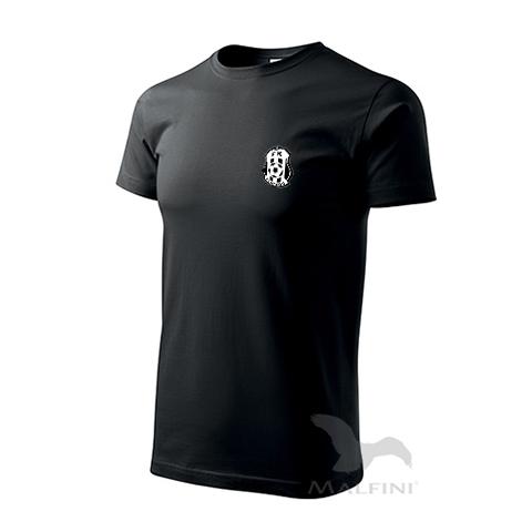 Černé tričko bavlněné