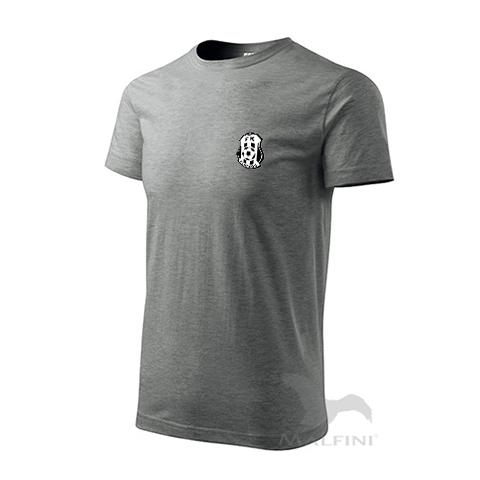 Šedivé tričko bavlněné