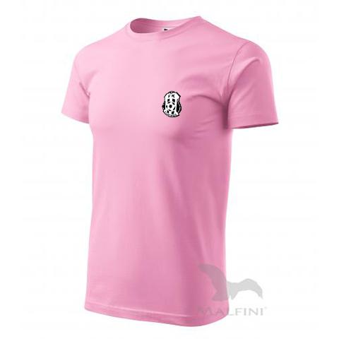 Růžové tričko bavlněné