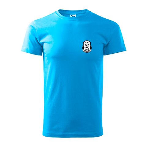 Tričko modré bavlněné