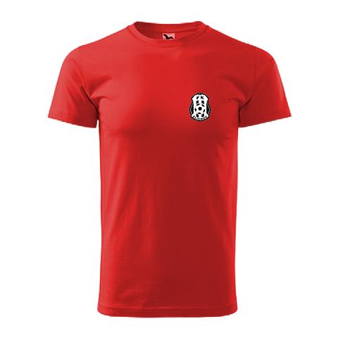 Tričko červené bavlněné