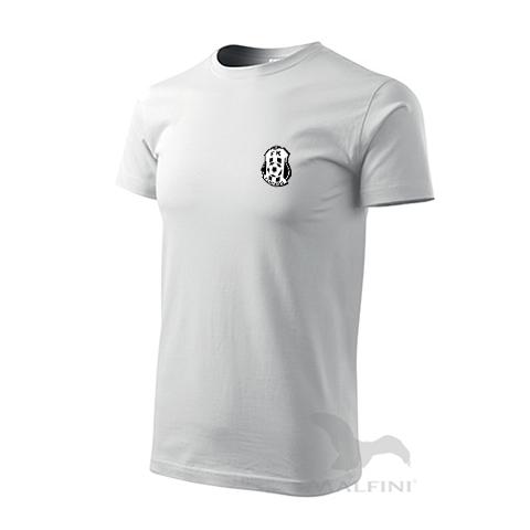 Bílé tričko bavlněné