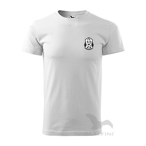 Bílé tričké bavlněné